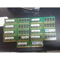 Memoria Ddr2 De 1gb Bus 533/667/800 Baja Densidad 16 Chips