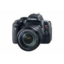 Cámara Canon Eos Rebel T6i Ef-s 18-135mm