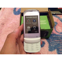 Nokia C2-02 Lila Con Blanco. Nuevo Telcel. $1499 Con Envio.