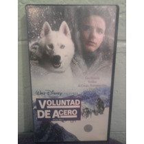 Vhs Voluntad De Acero Colmillo Blanco Walt Disney