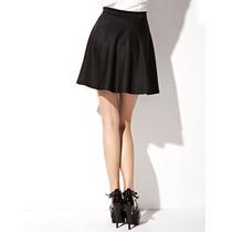 Falda Circular Tubo Cross Top Blusa Corta Flores Moda Verano