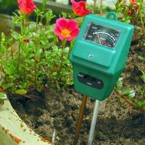 Medidor De Ph - Luz Solar -humedad P/tierra Jardin O Siembra