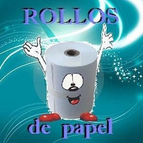 Rollo De Papel Autocopiante Para Ticket De 76 Mm