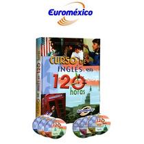 Curso De Inglés En 120 Hrs 1 Vol 3cd Rom 3 Dvd Euromexico
