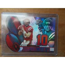 Eli Manning New York Giants Rookie Insert 2004 $6dls
