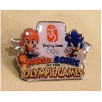 Pin De Mario And Sonic At The Olympic Games