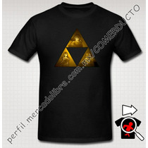 Playera Zelda Triforce Personajes