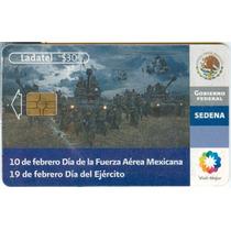 Tarj 10 De Febrero Dia De La Fuerza Aerea Mexicana.