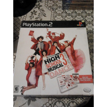 High School Musical 3 Dance Juego Y Tapete De Baile Ps2