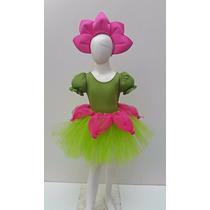 Disfraz De Flor Con Tutu Conejita Mariposa Primavera