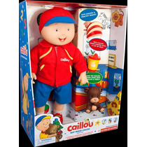 Caillou Best Friend Doll Parlante 40cms Habla