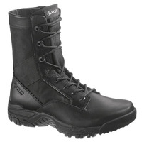 Botas Tacticas Bates Zero Mass 8 Black Leather Side Zip