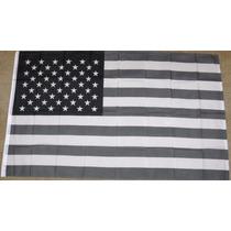 Bandera Blanca Y Negro Usa Estados Unidos 1.5m X 90cm