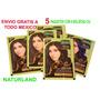 Tinte Natural Para El Cabello Henna,vatika Colours Paquete 5