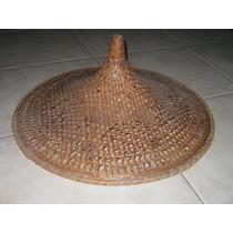 Antiguo Sombrero Oriental Para Decoracion Colección Proyecto