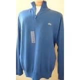 Sweater Original Algodon Pima Jersey 1/4 Ciper T 8