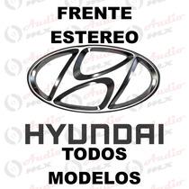 Frente Estereo Hyundai Ix35 Elantra Grand I10 C/ Volante
