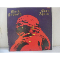Vintage Lp Black Sabbath Born Again 1983