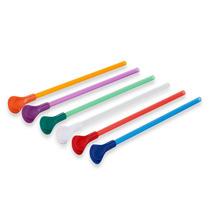 Popotes Cuchara Para Smoothie Paquete Con 6 Colores Varios