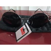 Lentes Diseño Lennon Ozzy Para El Sol Modelo Black Night