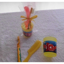 Bolo Recuerdito Piñata Cepillo Vasito Peine Kit Infantil