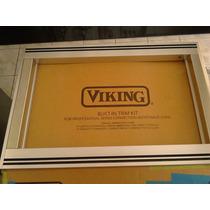 Viking Trim Vmtk306ss Cubierta Para Microondas Acero Inox