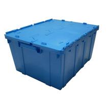 Caja Plastico Tapa De Bisagra