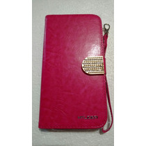Funda Cartera Beuty Rosa Para Alcatel Hero 2c Ot7055