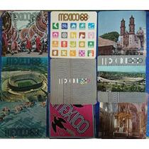 Colección 13 Postales Olimpiadas México 1968 -miguel Galas