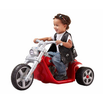 Moto Electrica Harley Modelo Rocker Oficial Power Wheels