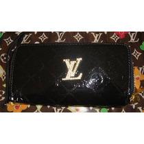 Cartera Lv Louis Vuitton Monograms Vernis Negra C Swaroskys