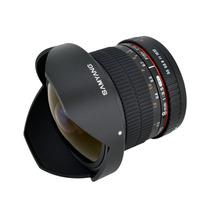 Nuevo Lente Ojo Pez Samyang Syhd8m-c 8mm F3.5 Sony Alpha Hm4