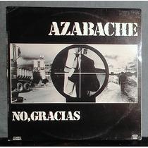 Azabache ¿ No Gracias ¿ Disco Lp Vinil España 1980
