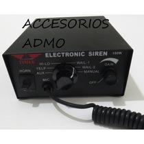 Sirena Altavoz 100 Watts 7 Tonos Federal Escoltas Ambulancia