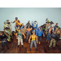 Set De Figuras Max Steel, Action Man, Corps.