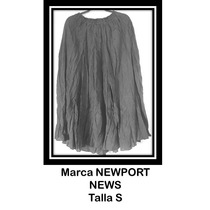 Falda Polyester Color Negro Para Dama