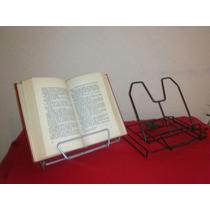 Atril Libros Revistas Cuadernos Tablet Plegable Ajustable