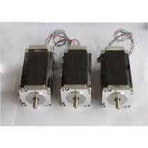 Lote 3 Motor A Pasos Nema 23 4.2 A Cnc Plasma Automatización