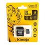 Memoria Micro Sd 8 Gb Kimtigo Con Blister Excelente Calidad!