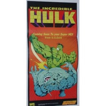 Nintendo Power - Poster Promocional De The Incredible Hulk