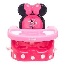 Silla Comer Booster Periquera Nina 3 En 1 Minnie Infanti