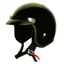Casco De Moto Motociclista Tipo Policia Retro Envio Gratis.
