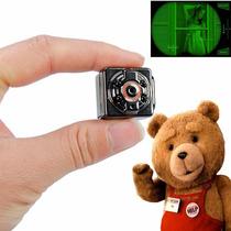 Mini Camara Espia Vision Nocturna Sensor Movimiento Full Hd