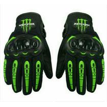 Guantes Para Motociclista Edición Monster Energy