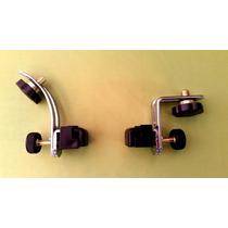 Clamp Metálico Para Micrófono. Batería, Timbales, Congas Etc