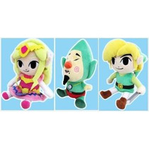 The Legend Of Zelda Wind Waker Hd Peluches Oficiales Japon
