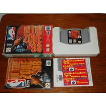 Nintendo 64 Nba In The Zone 98 Basketball En Caja Instructiv
