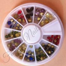 Carrusel Decoracion Medias Perlas Y Cristales Tipo Diamante