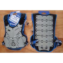 Talla M Peto Protector Pecho Espalda Armadillo Moto Pista