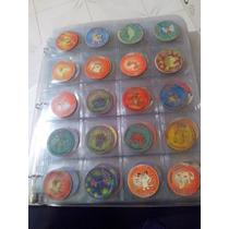 Colección De Tazos De Pokemon 1ra, 2da Y 3ra Generación